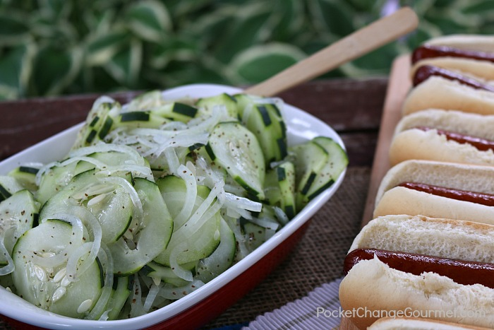 Cucumber Salad for Cookout