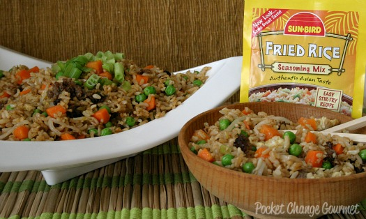 Pork fried rice recipe recipe pocket change gourmet to top off the meal you could add a few egg rolls to the offering or try one of the other easy to make asian inspired recipes ccuart Image collections