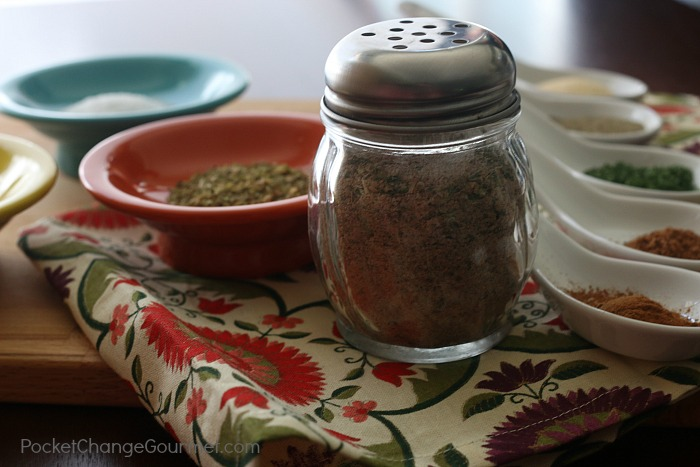 Mix your own spice blend