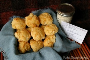 Red Lobster Cheese Biscuits with Homemade Biscuit Mix