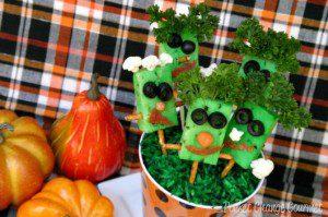 Halloween Party Food: Frankenstein Appetizer