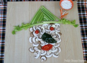 Halloween Party Food: Veggie Witchy Poo