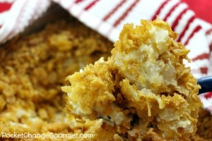 Cheesy Hashbrown Potato Casserole – 25 Days of Holiday Recipes