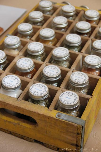 Organized Spice System