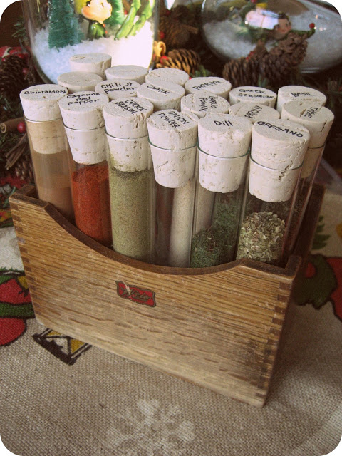 Test Tube Spice System