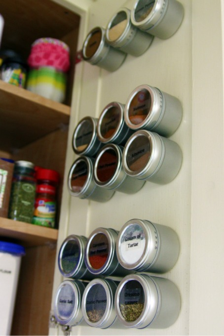 Magnetic Spice Cabinet