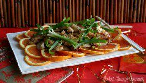 Orange Mango Chicken and Weekly Menu Plan
