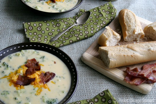 Broccoli and Cheddar Soup from Scratch