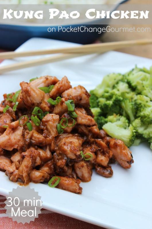 Kung Pao Chicken :: Recipe on PocketChangeGourmet.com