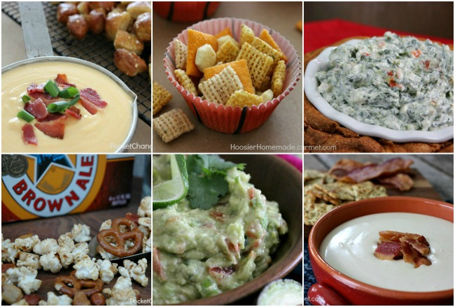 Dips and Snacks for March Madness | Recipes on PocketChangeGourmet.com