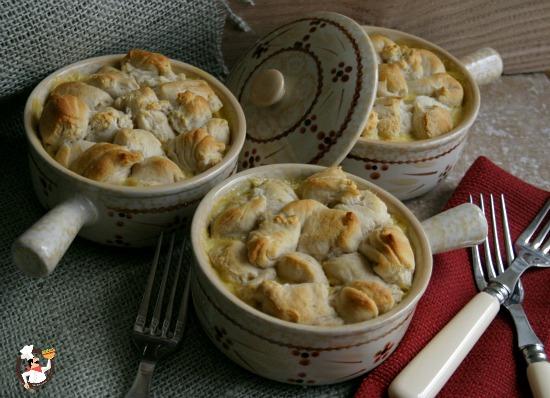 Individual Chicken Pot Pies | Pocket Change Gourmet