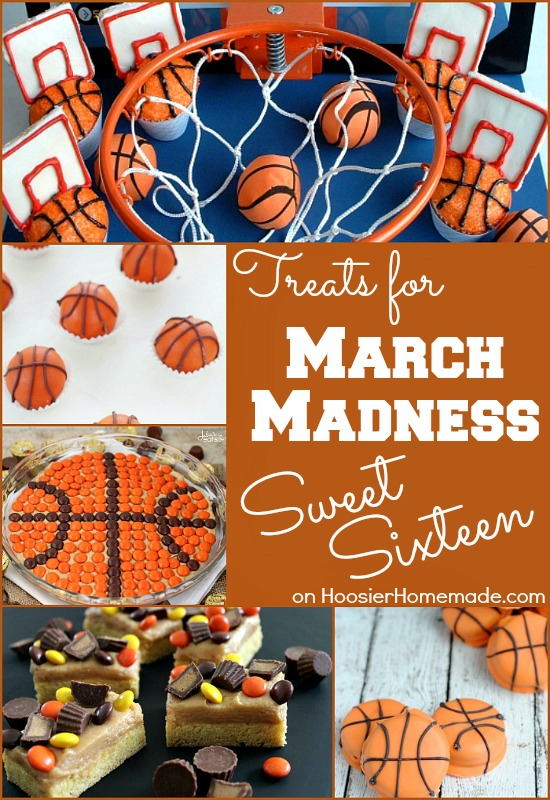 March Madness Sweet Treats