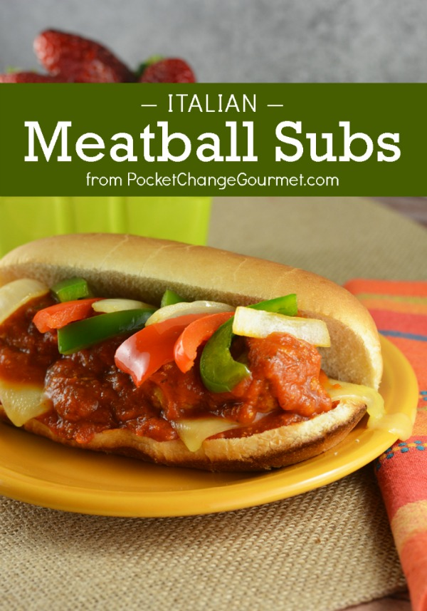 Whether you are planning on hosting a party or going to a friend's house, these delicious and hearty Italian Meatball Subs are the perfect menu item to feed any appetite.