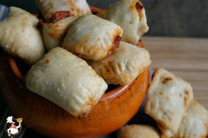 Homemade Pizza Rolls and Weekly Menu Plan