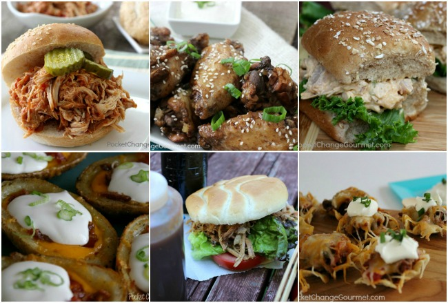 Sandwiches & Appetizers for March Madness