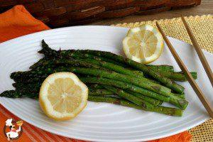 Spring Vegetables: Grilled Asparagus