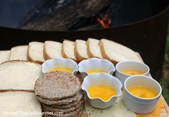 Ingredients for Breakfast Hobo Pies