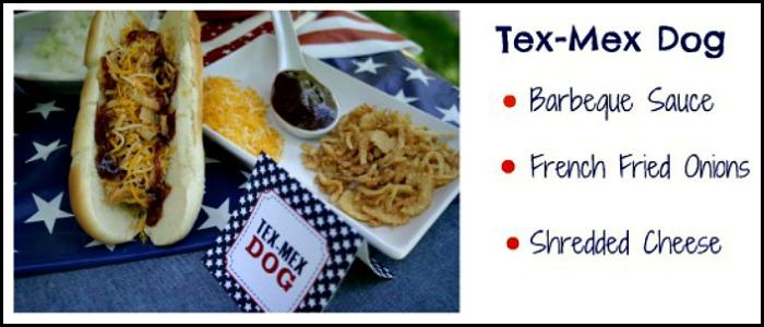 Tex Mex Hot Dog :: PocketChangeGourmet.com