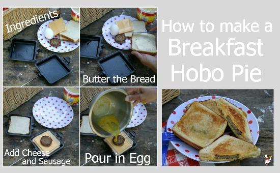 how to make hobo breakfast pies