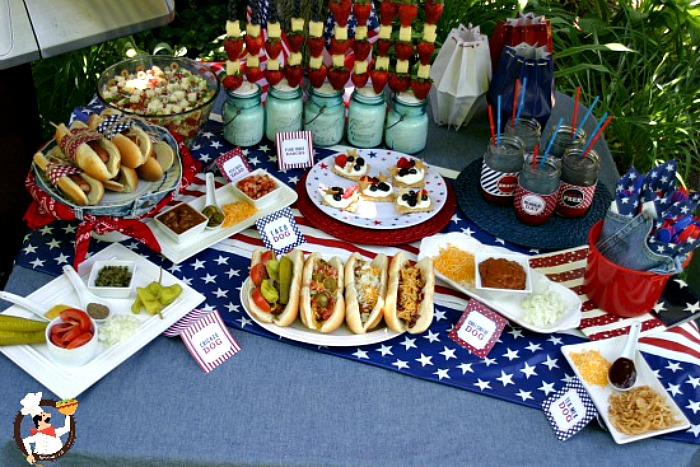 memorial day cook out food recipe pocket change gourmet