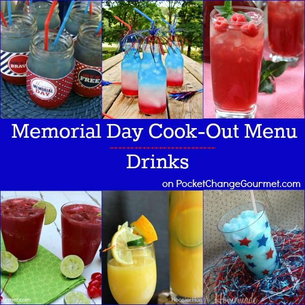 Memorial Day Cook-Out Menu : Drinks   Recipes on PocketChangeGourmet.com