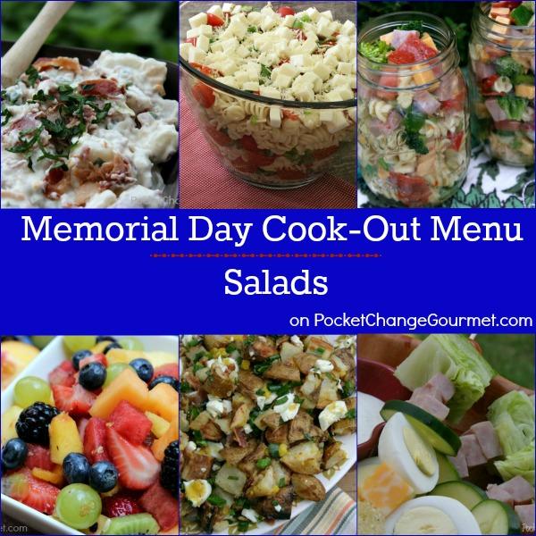 Memorial Day Cook-Out Menu : Salads   Recipes on PocketChangeGourmet.com