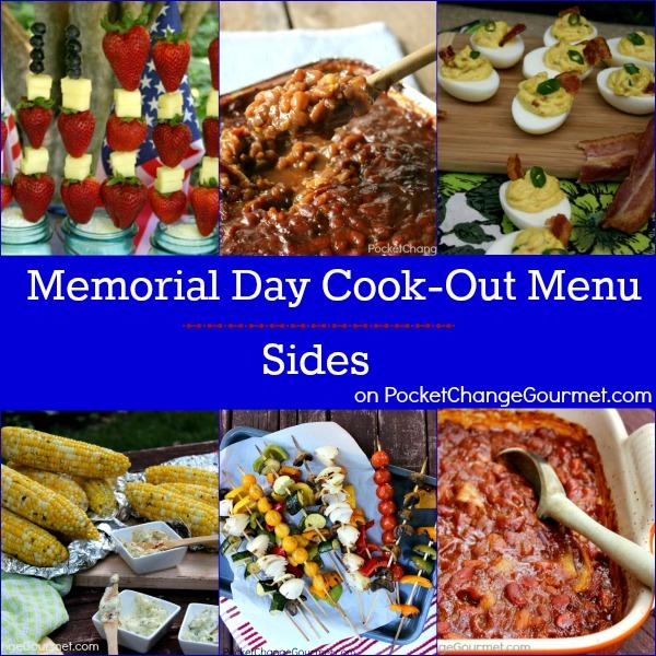 Memorial Day Cook-Out Menu : Sides | Recipes on PocketChangeGourmet.com