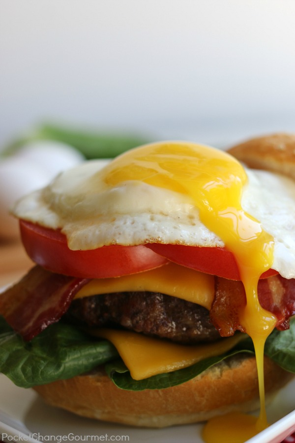 Take your burger to new heights with the addition of a fried egg! Once you have this Royal Burger, you will never go back to the boring burger again! Be sure to save by pinning to your Recipe Board!