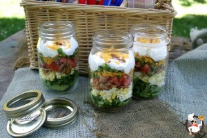 Fourth of July Salads: Seven Layer Salad