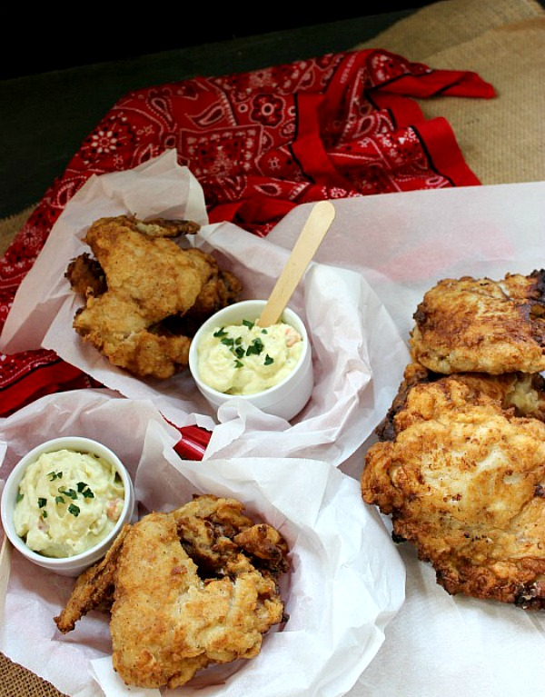 Buttermilk Fried-Chicken