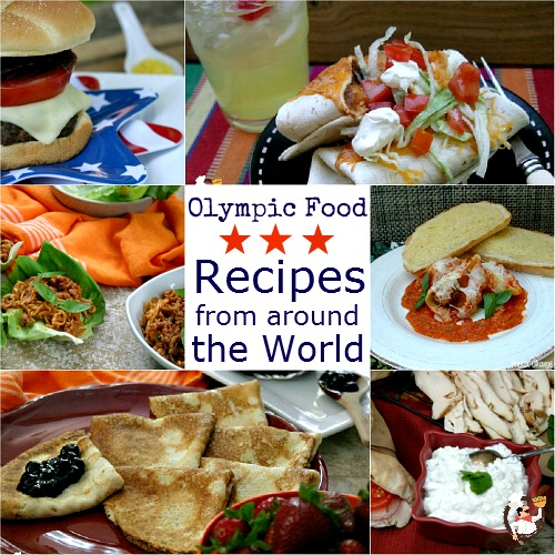 Olympic food recipes from around the world pocket change gourmet we forumfinder Image collections