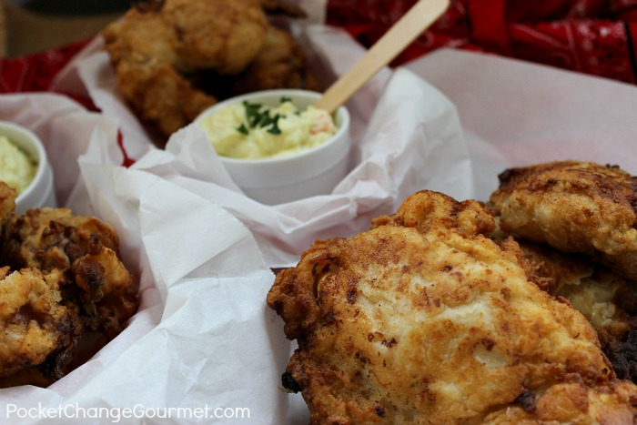 Buttermilk Fried Chicken :: Recipe on PocketChangeGourmet.com
