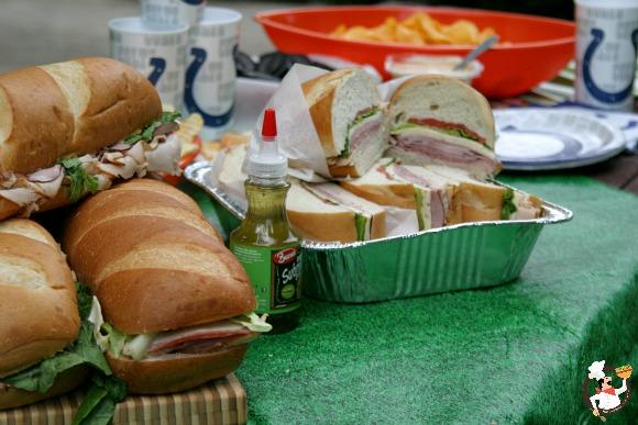 Food Ideas For Feeding A Football Team