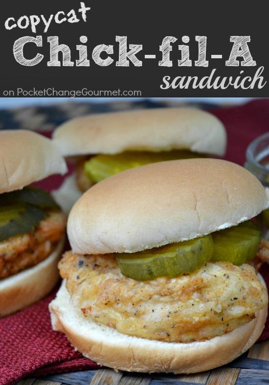 Copycat Chick-fil-A Sandwich | Recipe on PocketChangeGourmet.com