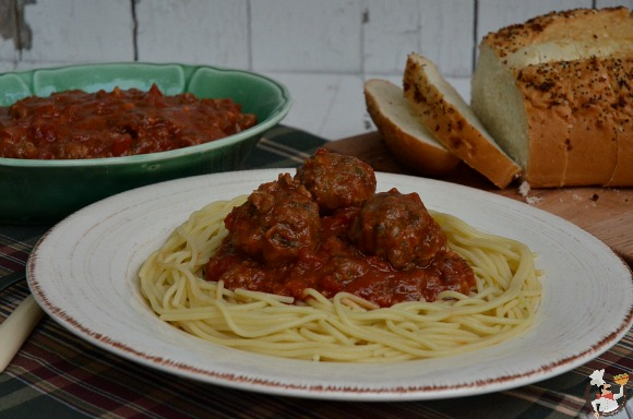 Classic Spaghetti with Meatballs: Weekly Menu Plan