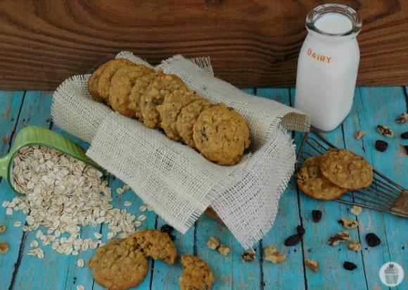 Pumpkin Oatmeal Cookies Recipe on HoosierHomemade.com