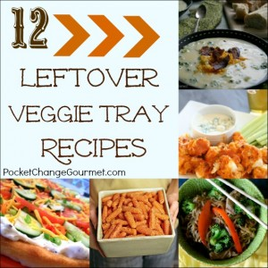12 Leftover Veggie Tray Recipes