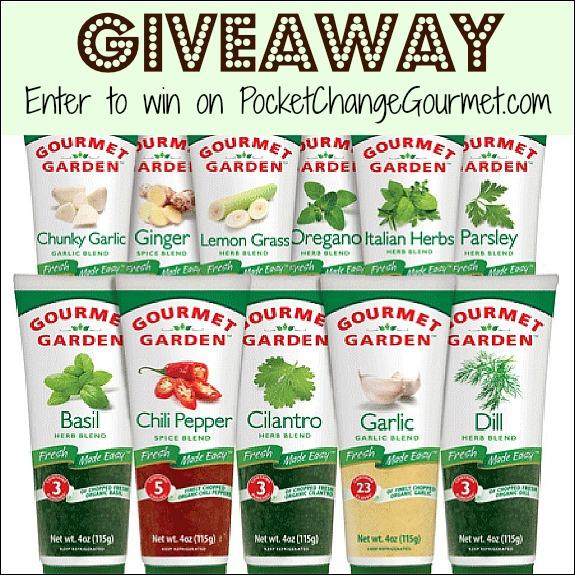 Gourmet Garden Fresh Herbs Giveaway Recipe | Pocket Change Gourmet