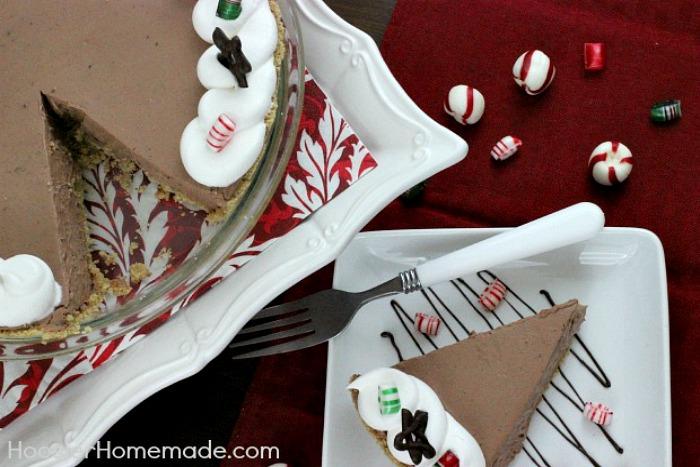 Chocolate Peppermint Pie