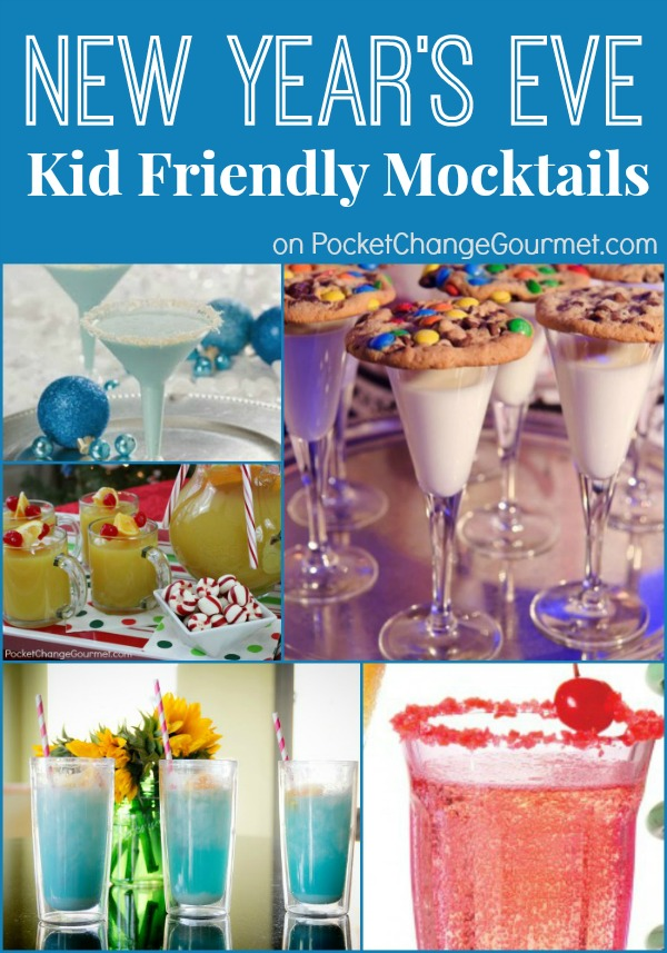 Nice Kids Cocktail Party Ideas Part - 10: New Yearu0027s Eve Kid Friendly Mocktails On PocketChangeGourmet.com