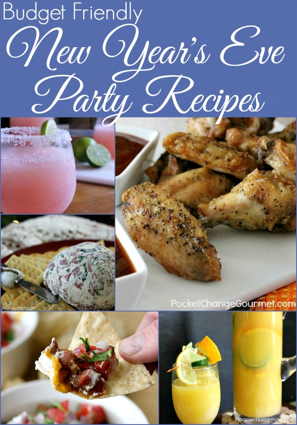 New Year's Eve Party Recipes on PocketChangeGourmet.com