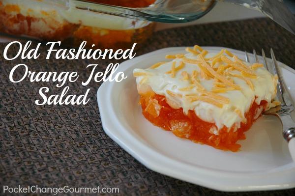 Old Fashioned Orange Jello Salad