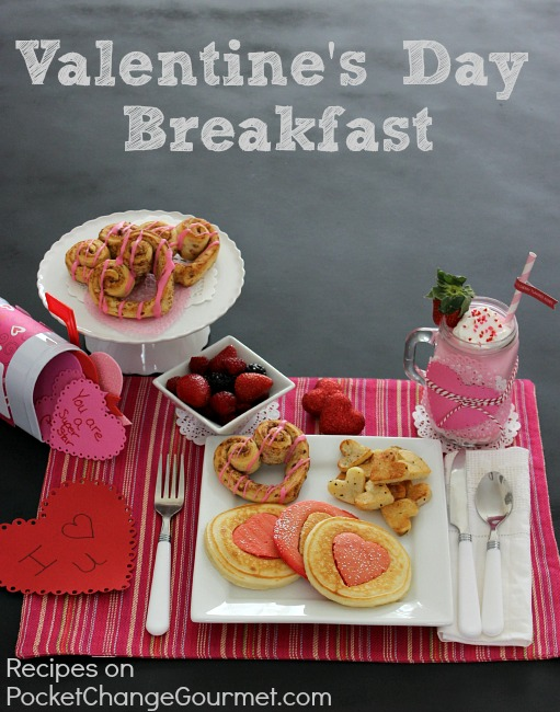 Valentine's Day Breakfast Recipes :: PocketChangeGourmet.com