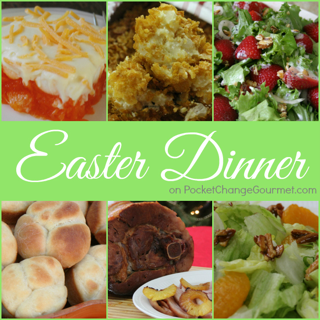 Easter Dinner Recipes | PocketChangeGourmet.com