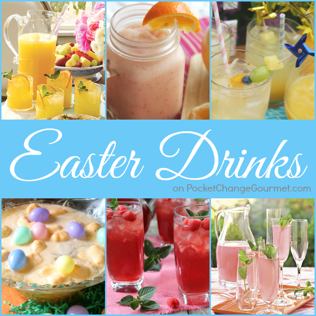 Easter Drinks Recipes | PocketChangeGourmet.com