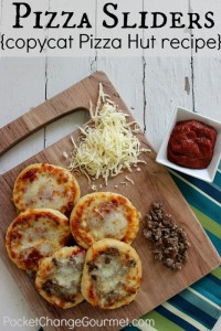 Pizza Sliders: Copycat Pizza Hut Recipe