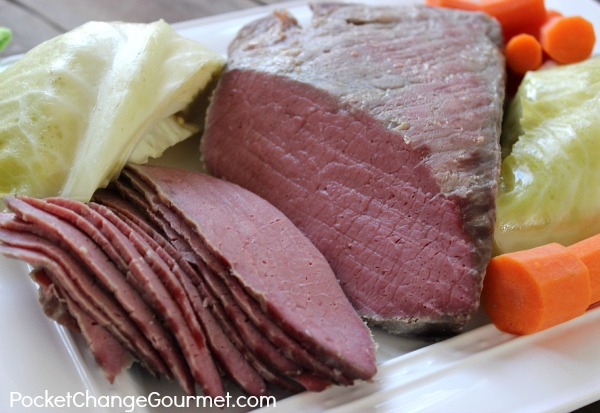 different cuts of corned beef