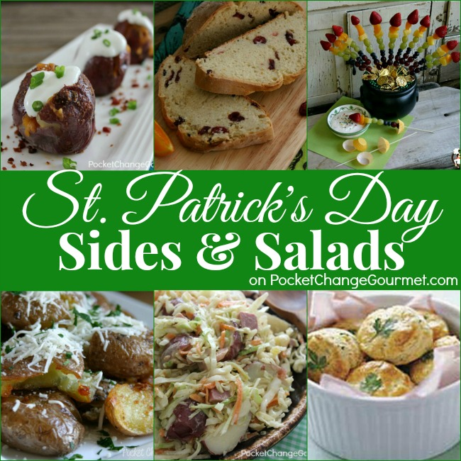 St. Patrick's Day Sides | on PocketChangeGourmet.com