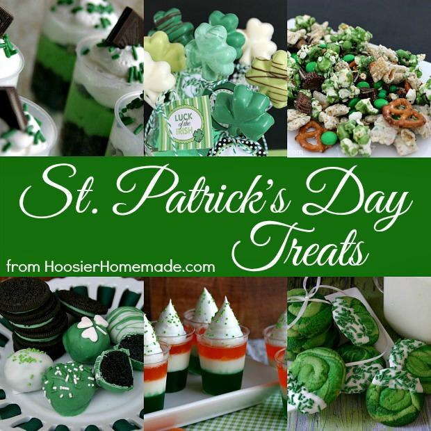 St. Patrick's Day Dessert Recipes