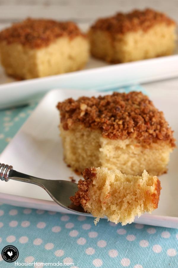 Make Ahead Coffee Cake.fork